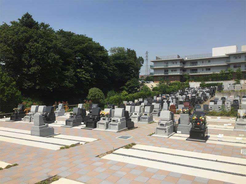 川口霊園かわぐちの杜第2期 日当たりの良い清潔な園内