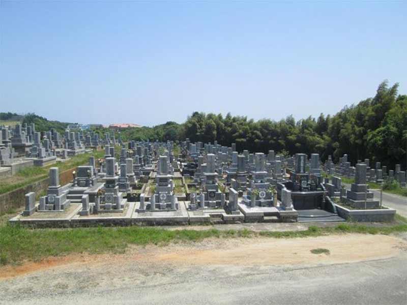 宇部市営 開公園墓地