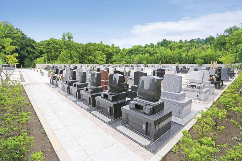 メモリアルガーデン梅郷聖地 洋型墓石