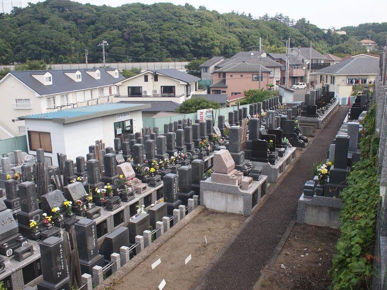 藤沢霊園 住宅地に隣接した霊園