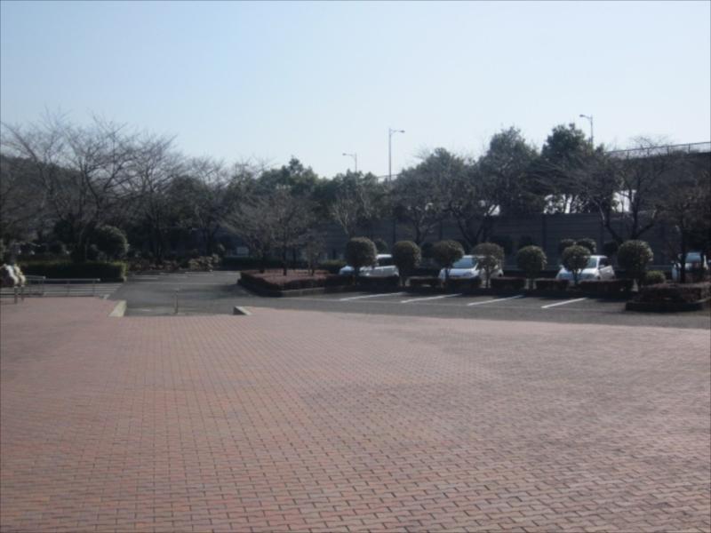 綾瀬市営 本蓼川墓園 広い駐車場
