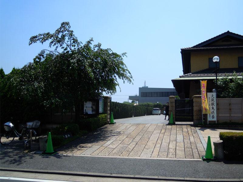 大師の杜墓苑 広い入口
