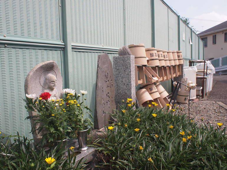 藤沢霊園 整頓された水汲み場