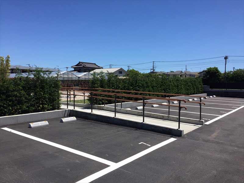 湘南茅ヶ崎やすらぎ霊園 駐車スペース