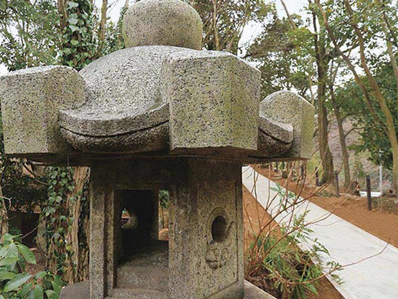 鎌倉湖墓苑二期 趣のある園内風景