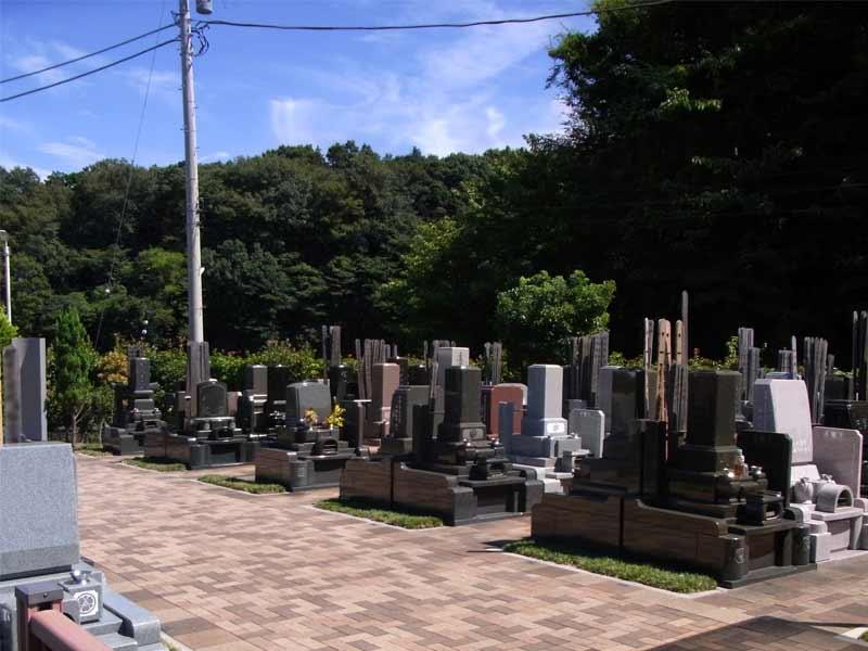 中和倉メモリアルひかりの郷 和型・洋型墓石