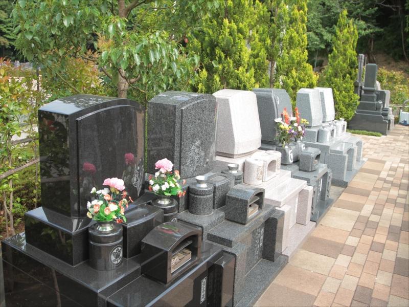 中和倉メモリアルひかりの郷 洋型墓石
