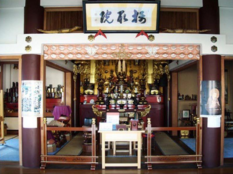 大徳寺 永代供養塔 光明 法要施設内部