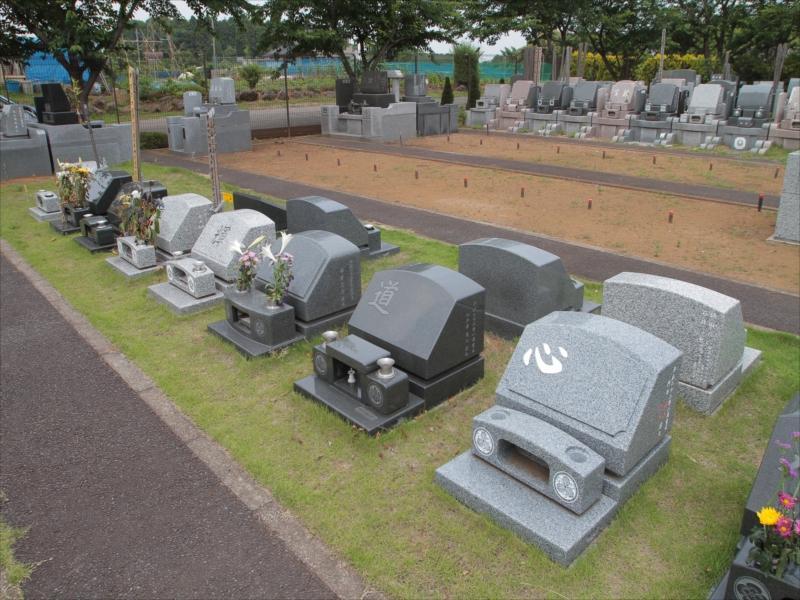 八千代メモリアルヒルズの芝生墓地