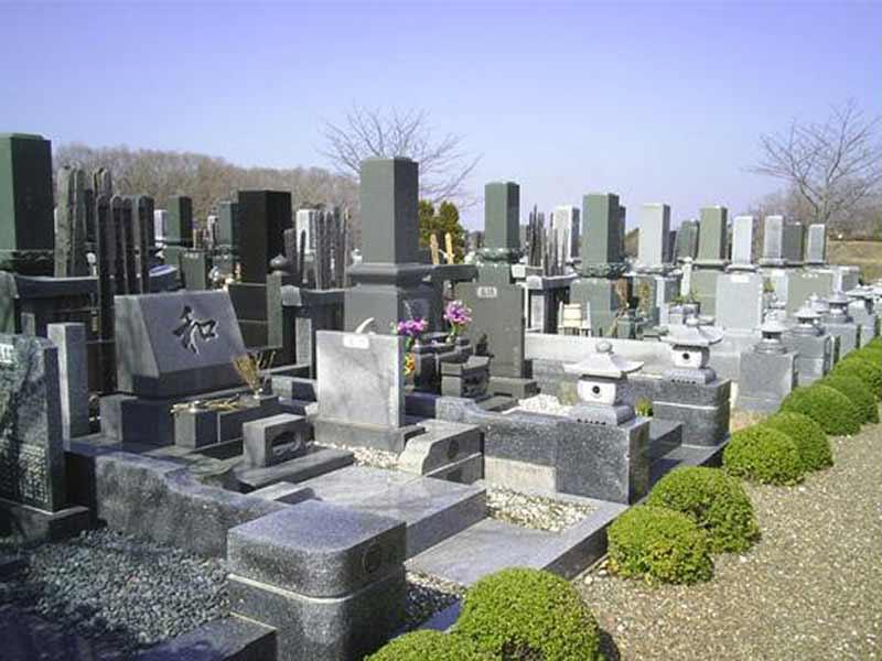 木更津市営霊園 和型・洋型墓石