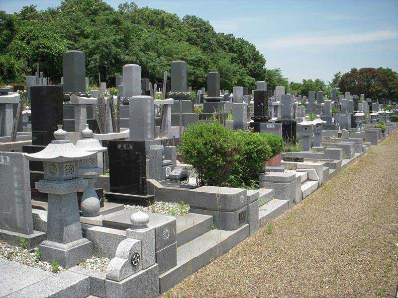 木更津市営霊園 和型墓石