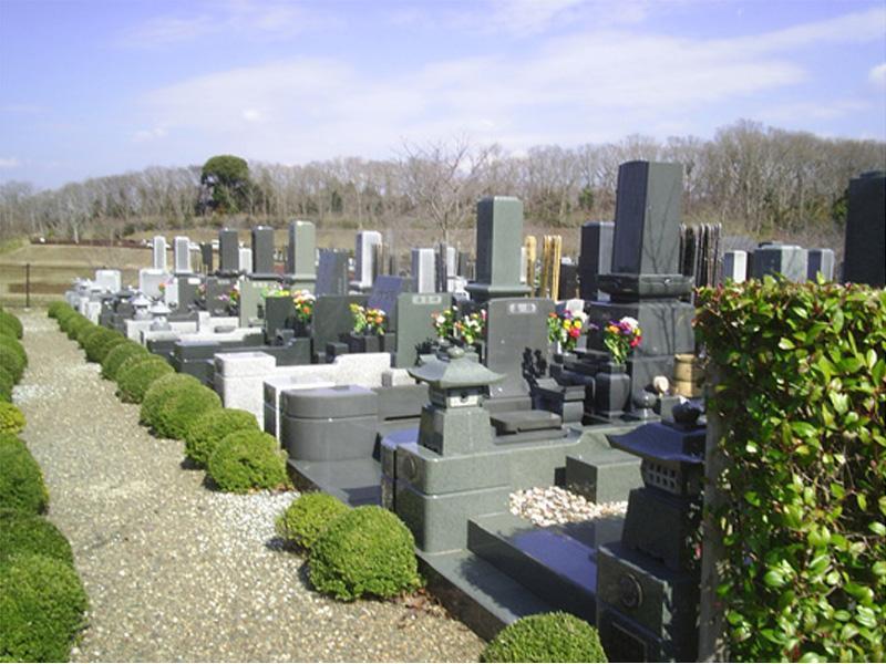 木更津市営霊園 一般墓所