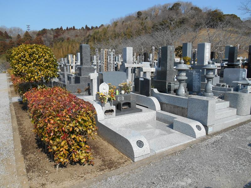 袖ヶ浦市営 墓地公園 和型・洋型墓石
