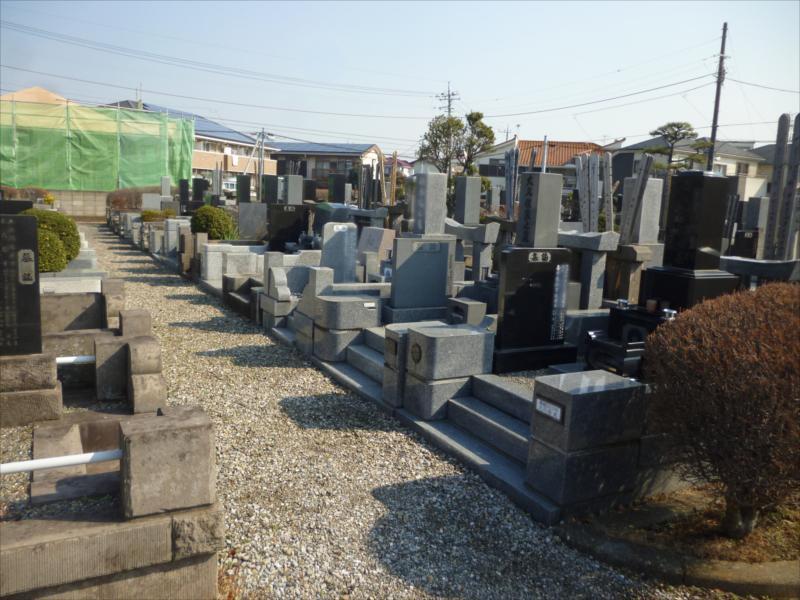 船橋市営 習志野霊園 和型墓石