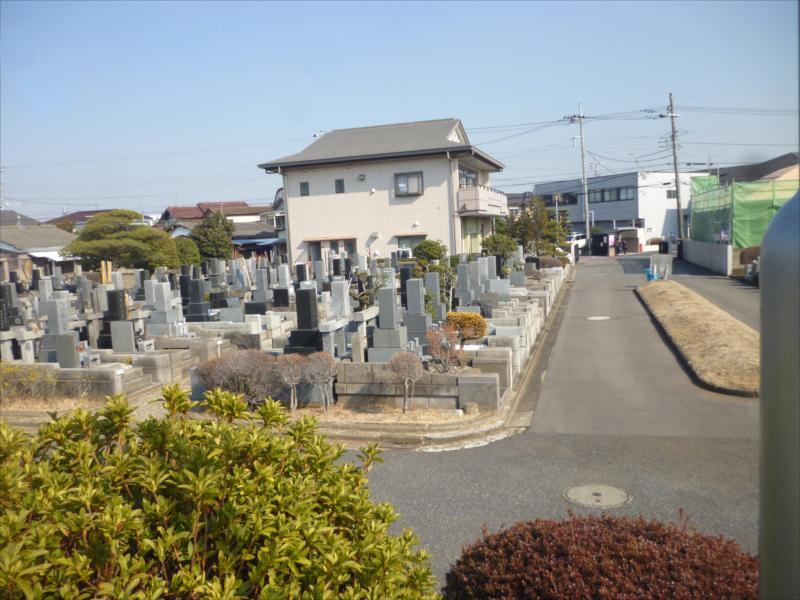 船橋市営 習志野霊園 一般墓所風景