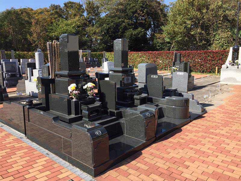 みつわ台霊園 殿台の杜 手入れの行き届いた清潔な墓域