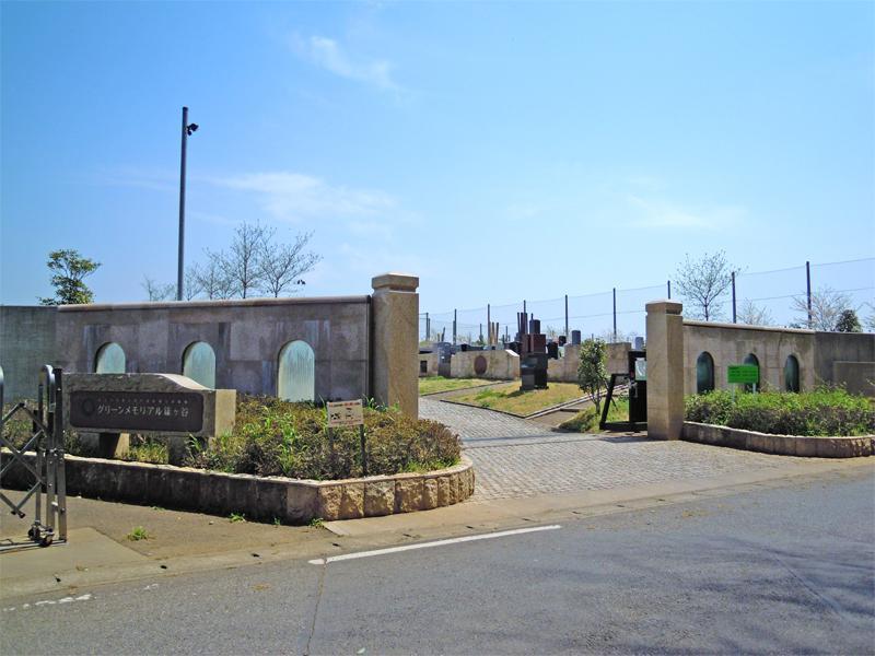 グリーンメモリアル鎌ヶ谷 石門の入り口