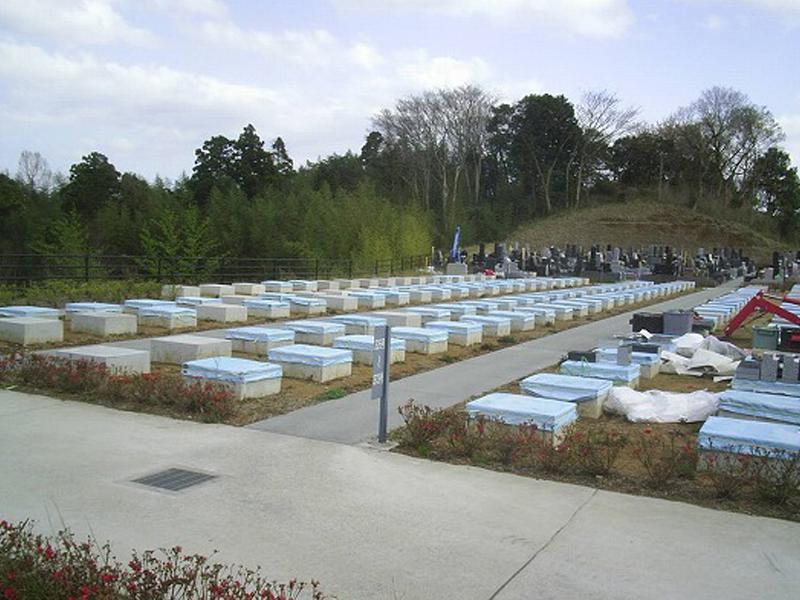 市原市営 海保墓園 新しい区画