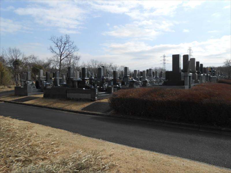 市原市営 能満墓園 和型墓石