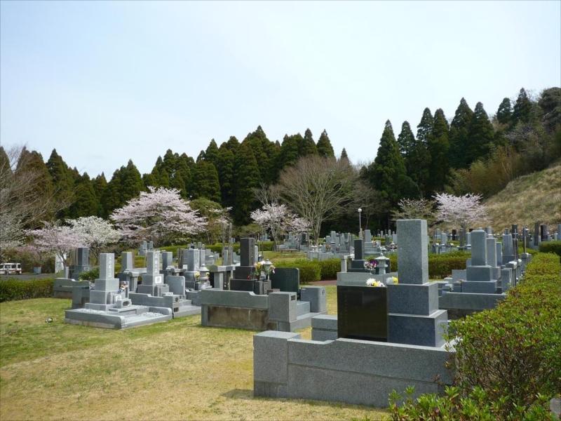 一宮町営 宮の森霊園 和型墓石