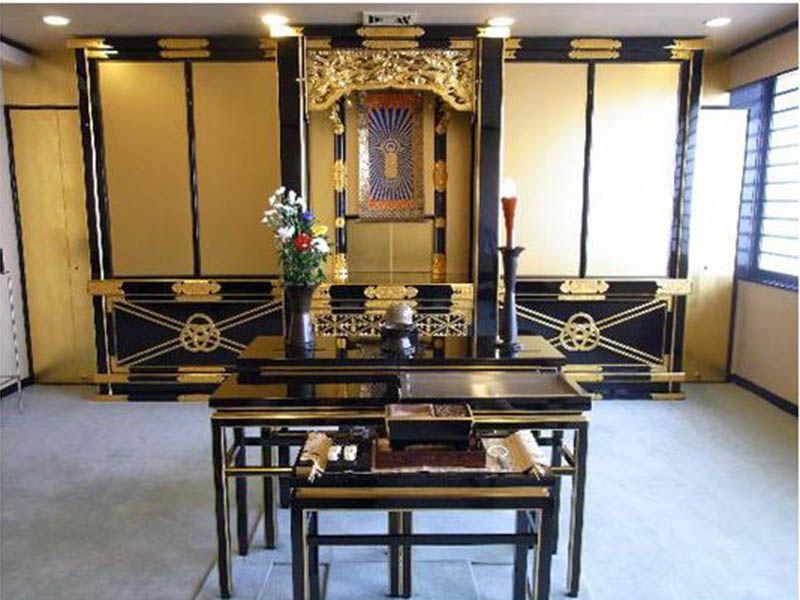 萬栄寺浄苑 法要施設も完備
