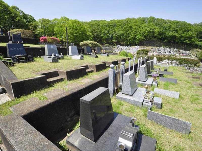 青梅市墓地公園 ゆとりのある区画