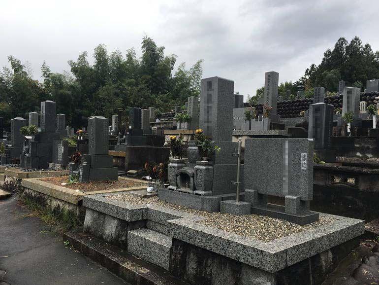 美濃市営 乙女坂墓地