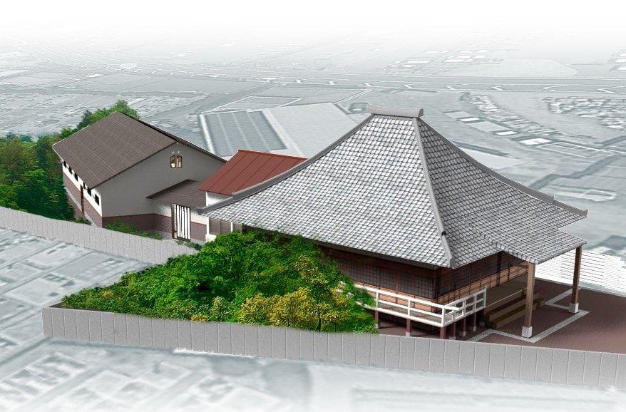 観音寺墓堂