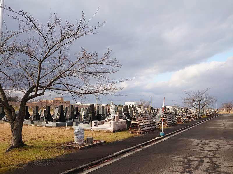 黒石市姥懐霊園墓地