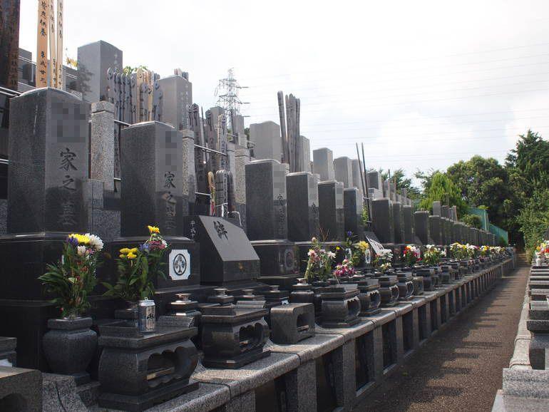 藤沢霊園 陽当りのよい墓域