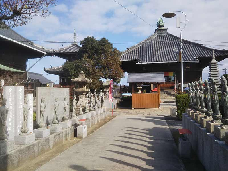 道隆寺墓地