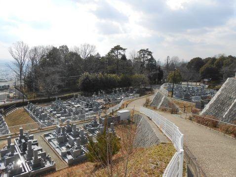 池田市営 五月山霊園 園内風景