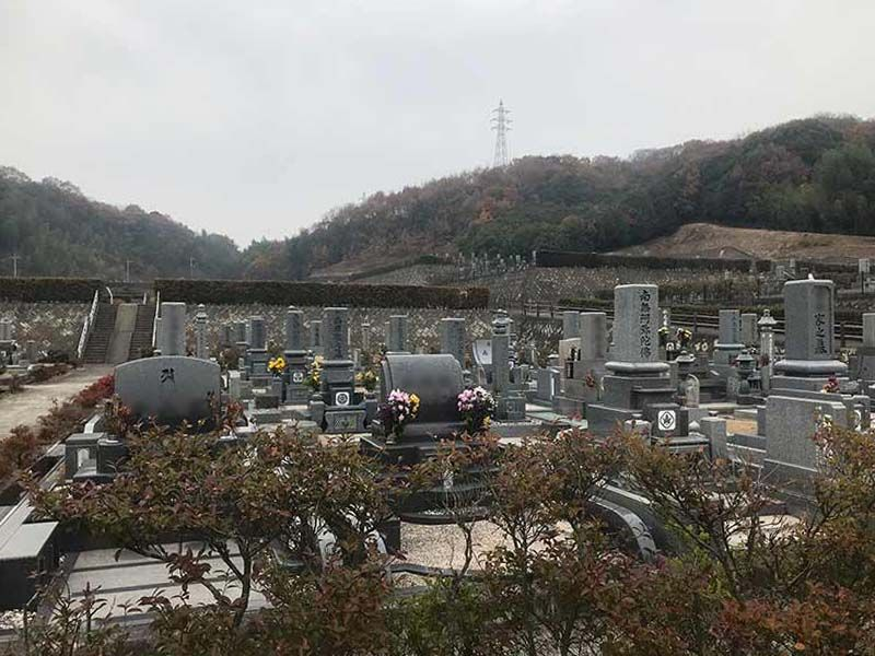倉敷市営 児島公園墓地