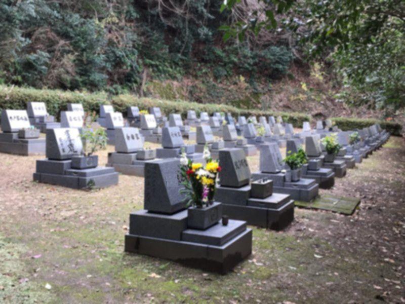 舞鶴市営 北吸墓園