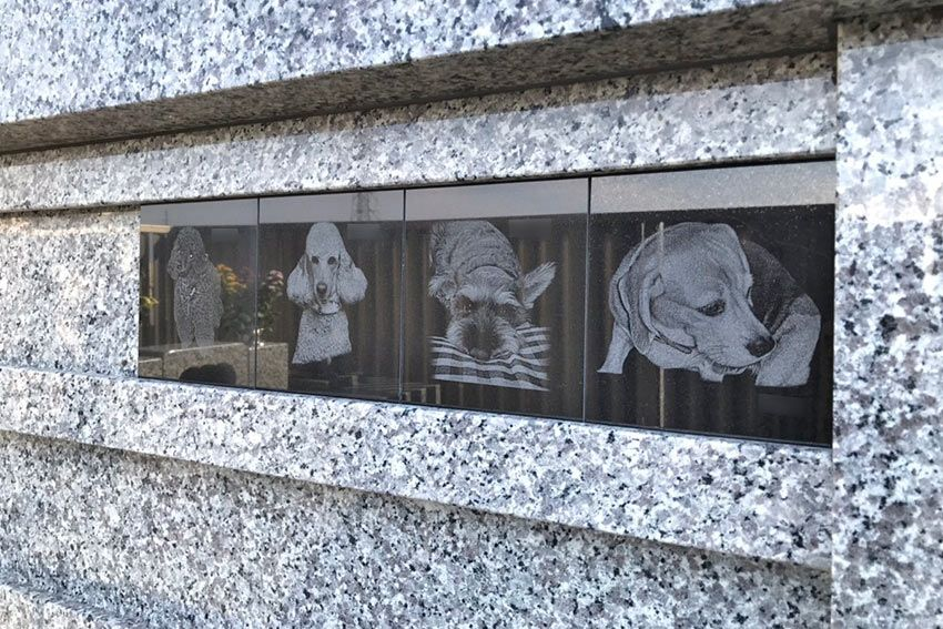 メモリーガーデン彩の杜霊園のペット専用墓域