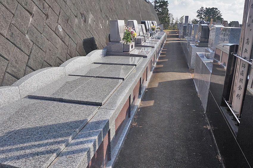 湯河原吉祥公園墓地の墓地区画
