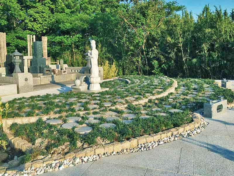 樹木葬 おおどりの杜 自然に囲まれた樹木葬