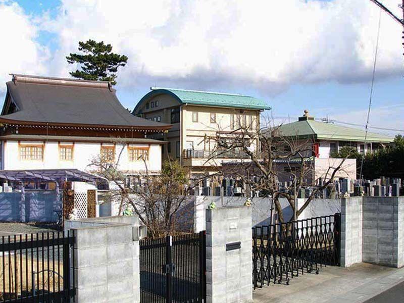 地蔵院墓苑 霊苑入口