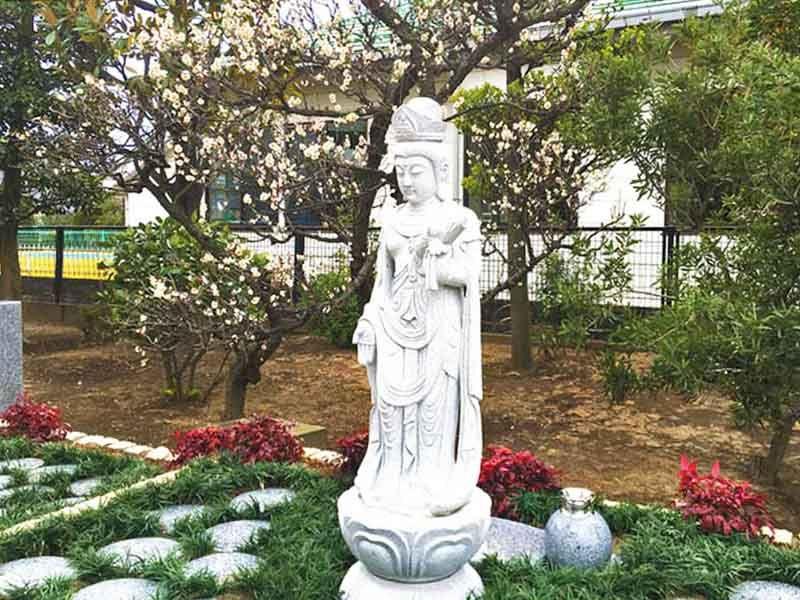 八潮樹木葬墓地 四季の花に囲まれた樹木葬