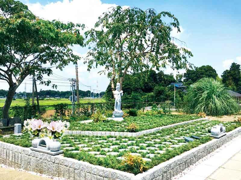 柏樹木葬墓地