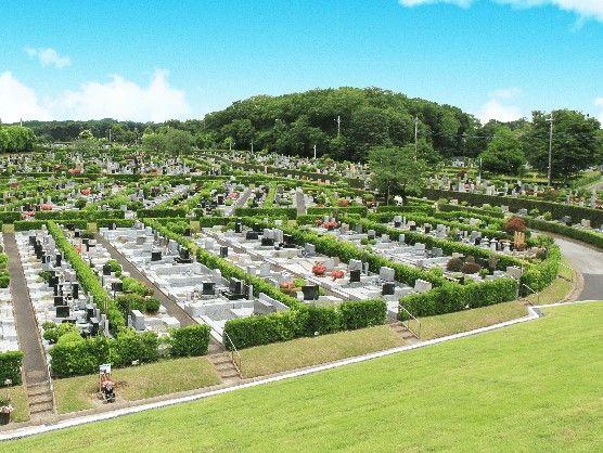 所沢聖地霊園 広大な霊園風景