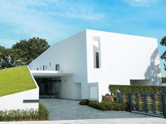 所沢聖地霊園 2016年グッドデザイン賞を受賞した管理事務所