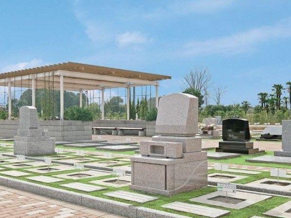 大宮霊園 第二期 隣との間にゆとりのある墓域