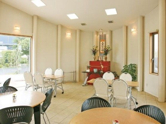 大宮霊園 法要室の様子