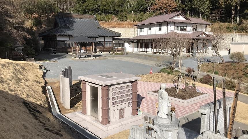安養寺の永代供養墓