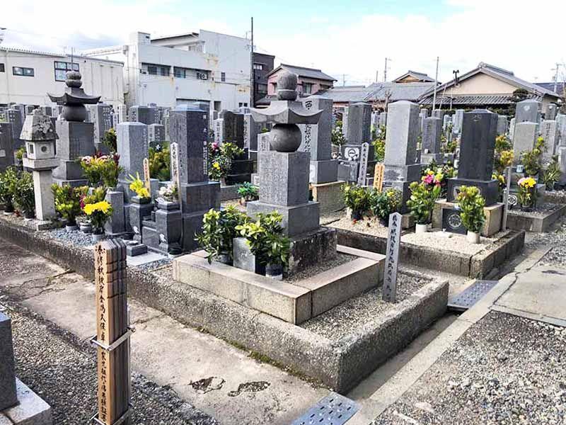伊勢市営 小俣若山墓地
