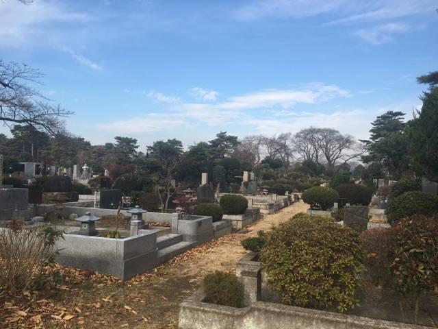 都立 小平霊園 著名人が眠る歴史ある都立霊園