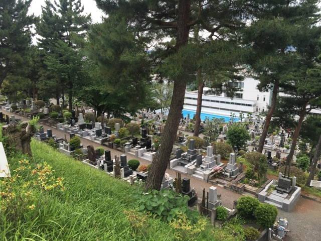 八王子市営 甲の原霊園 霊園風景②