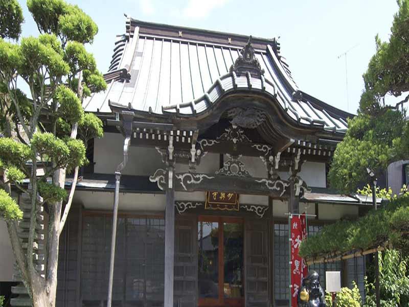 鎌倉富士見墓苑 妙典寺本堂