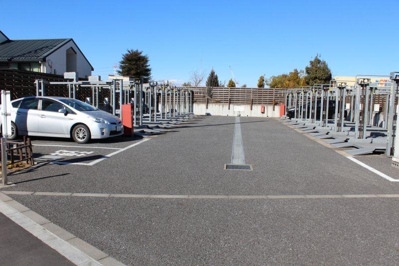 メモリアルガーデン新座 機械式駐車場